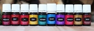 Line of Young Living Oils