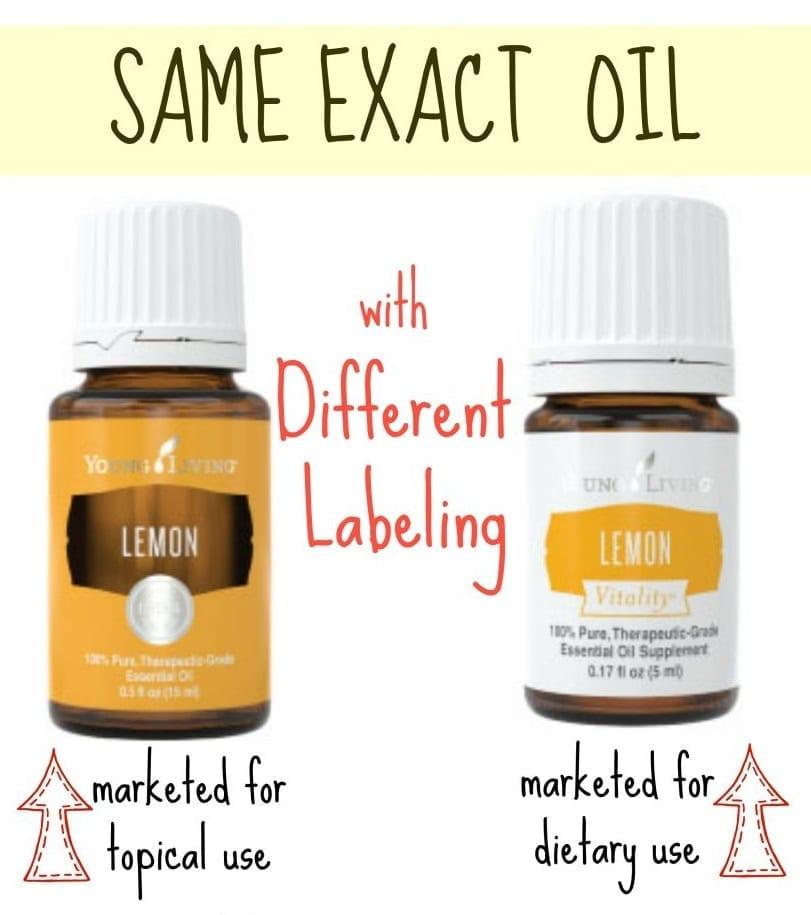 Lemon Vitality Oil #5625