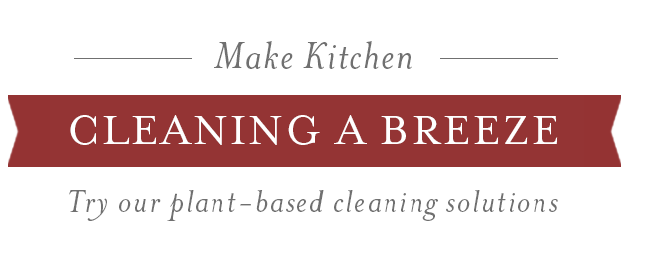 Make Kitchen Cleaning a breeze with Thieves Household Cleaners
