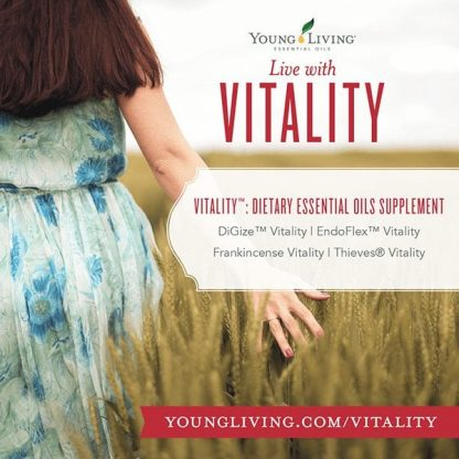 Vitality Oils are Dietary Essential Oil Supplements