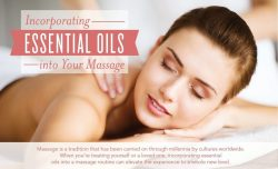Incorporating essential oils into your massage