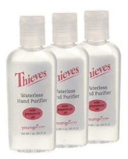 Thieves Waterless Hand Purifier 3 pack