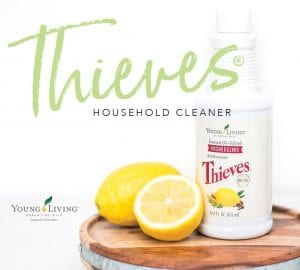Thieves Cleaner with lemon