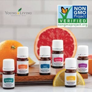 Young Living Vitality Essential Oils are Non-GMO certified.