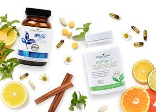 Young Living Supplements OmegaGize and Super C