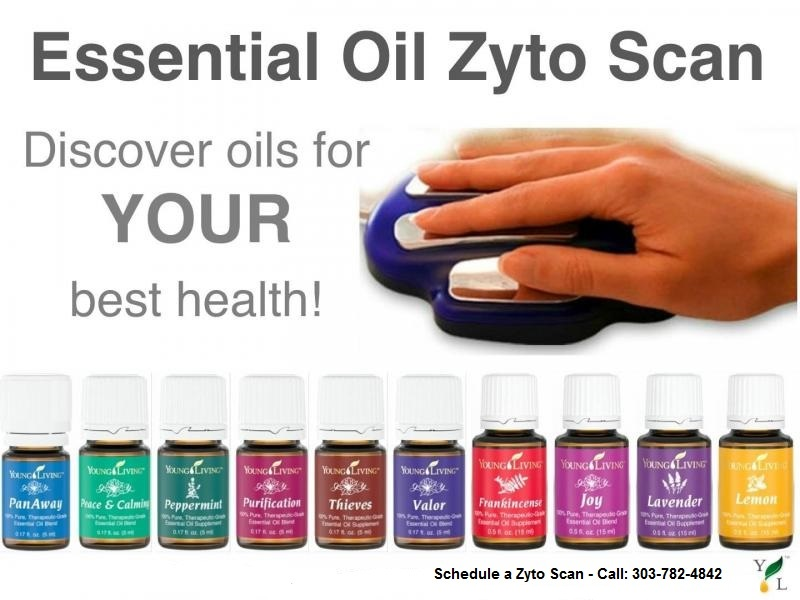 Essential Oil Zyto Scan