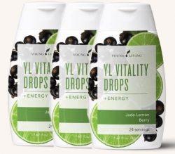 Vitality Drops Energy Jade Lemon Berry (3-pack)